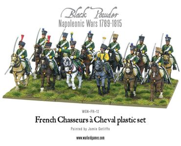 Napoleonic French Chasseurs a Cheval Light Cavalry 28mm – Bild 2
