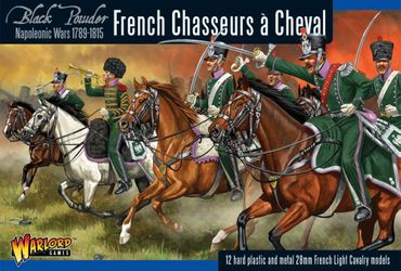 Napoleonic French Chasseurs a Cheval Light Cavalry 28mm – Bild 1