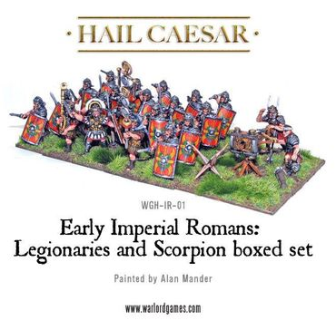 Early Imperial Roman Legionaries and Scorpion 28mm – Bild 2