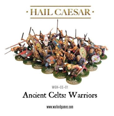 Ancient Celts Celtic Warriors 28mm – Bild 2