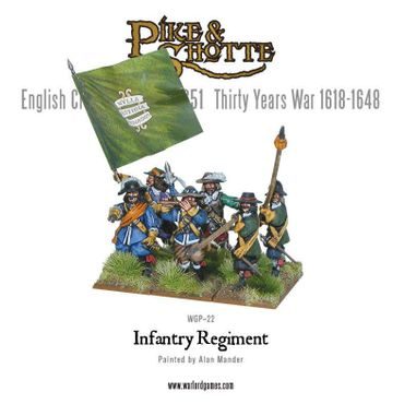 Pike & Shotte Infantry Regiment 28mm – Bild 3