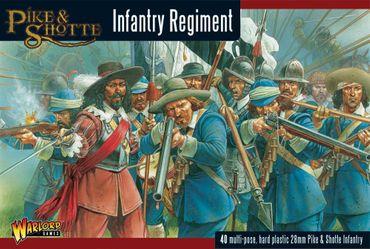 Pike & Shotte Infantry Regiment 28mm