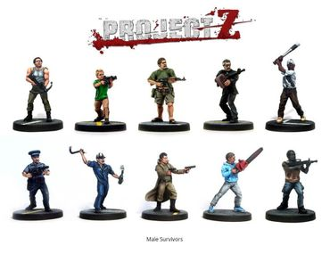 Project Z The Zombie Miniatures Game (Englisch) – Bild 4
