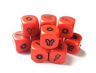 Project Z Zombie Red Dice Pack (10)