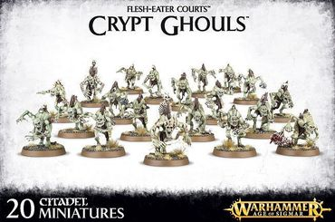 Flesh Eater Courts Crypt Ghouls / Crypt Ghast Courtier