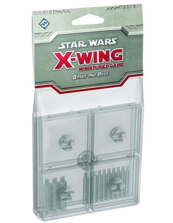 Star Wars X-Wing Clear Bases and Pegs Expansion Pack – Bild 1