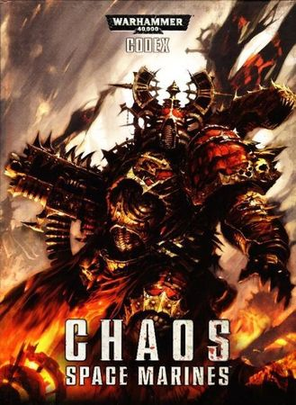 Chaos Space Marines Codex (Deutsch) - Softcover