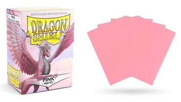 Dragon Shield Matte Pink 100 protective Sleeves