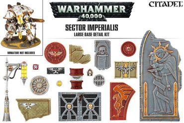 Sector Imperialis Large Base Detail Kit (72)