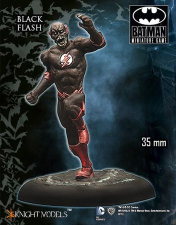 BMG The Flash and the Arrow Expansion Rulebook (Englisch) + Black Flash – Bild 2