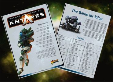 The Battle for Xilos Antares Supplement (Englisch) – Bild 2