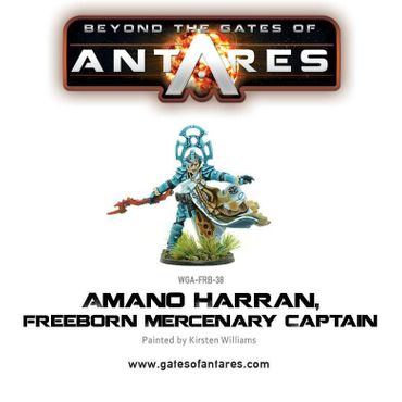Amano Harran Freeborn Mercenary Captain