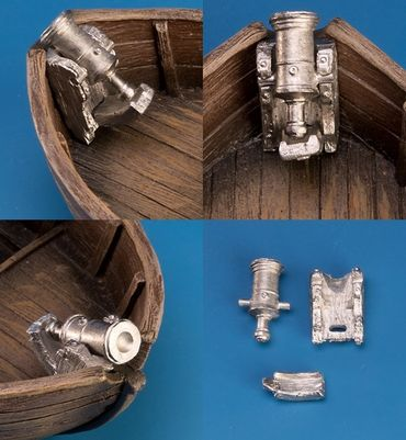 Drehbasse und Mörser für Boote – Bild 2