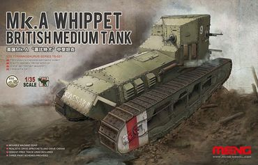 Meng British Medium Tank Mk.A Whippet 1/35