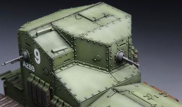 Meng British Medium Tank Mk.A Whippet 1/35 – Bild 5