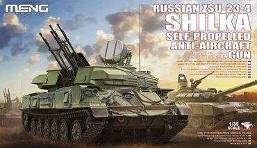 Meng Russian ZSU-23-4 Shilka Self-Propelled Anti-Aircraft Gun 1/35