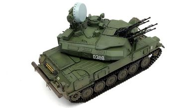 Meng Russian ZSU-23-4 Shilka Self-Propelled Anti-Aircraft Gun 1/35  – Bild 4