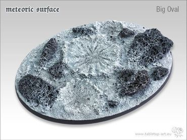 Meteoric Surface Big Oval (1) – Bild 2