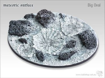 Meteoric Surface Big Oval (1) – Bild 1