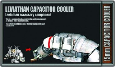 Leviathan Capacitor Cooler - 15mm Accessory