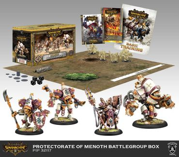 Protectorate of Menoth Battlegroup Starter MK3 (Deutsch)