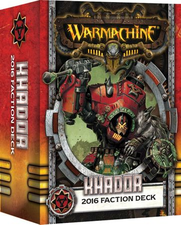 Warmachine Khador MK3 2016 Fraktionsdeck (Deutsch)