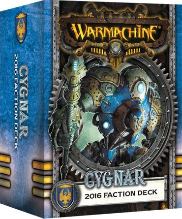 Warmachine Cygnar MK3 2016 Fraktionsdeck (Deutsch)