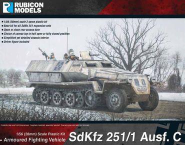 Sd.Kfz. 251/1 Ausf C 1/56 28mm