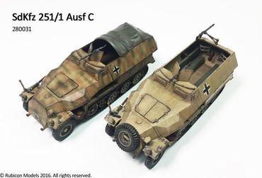 SdKfz 251/1 Ausf C 1/56 (28mm) – Bild 5