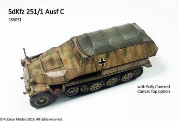 SdKfz 251/1 Ausf C 1/56 (28mm) – Bild 3