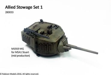 Stowage Set 1 Allied 1/56 (28mm) – Bild 4