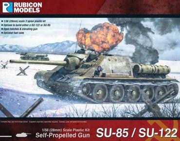 SU-85 / SU-122 SPG 1/56 28mm