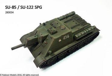 SU-85 / SU-122 SPG 1/56 (28mm) – Bild 5