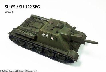 SU-85 / SU-122 SPG 1/56 (28mm) – Bild 2