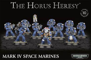 Horus Heresy Mark IV Space Marines [GW WEB EXKLUSIV]