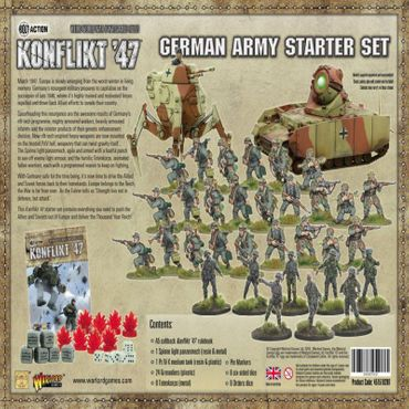 Konflikt 47 German Starter Set – Bild 3