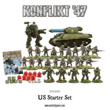 Konflikt 47 US Army Starter Set – Bild 1
