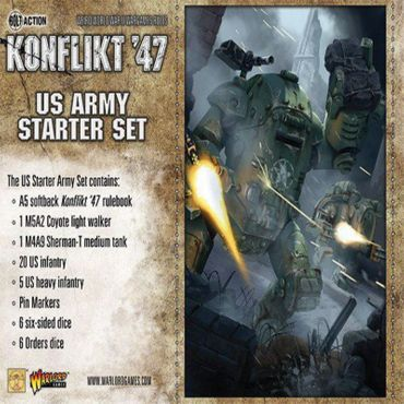 Konflikt 47 US Army Starter Set – Bild 2