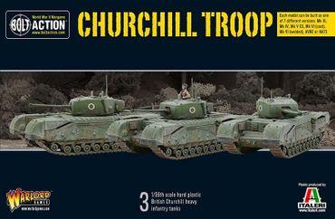 Churchill Troop 28mm
