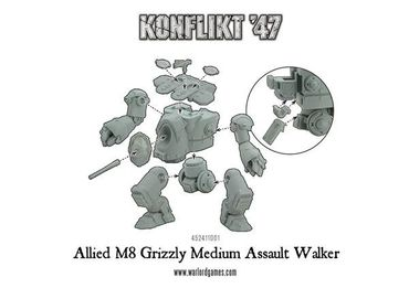 Konflikt 47 Grizzly Medium Walker – Bild 4