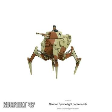 Konflikt 47 German Spinne Light Panzermech – Bild 2