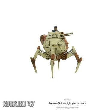 Konflikt 47 German Spinne Light Panzermech – Bild 3