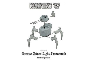 Konflikt 47 German Spinne Light Panzermech – Bild 4