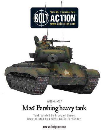 M26 Pershing Heavy Tank 28mm