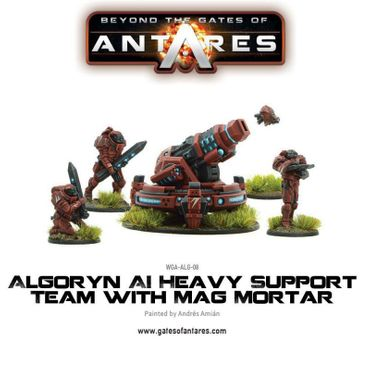 Algoryn AI Heavy Support Team Mag Mortar