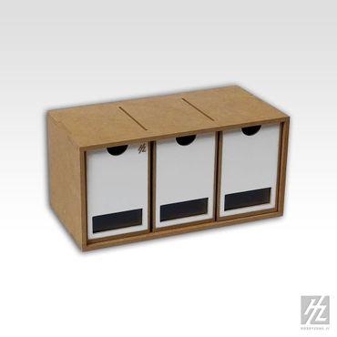 Große Schubladen Modul x 3 (Drawers Module x 3) MWS