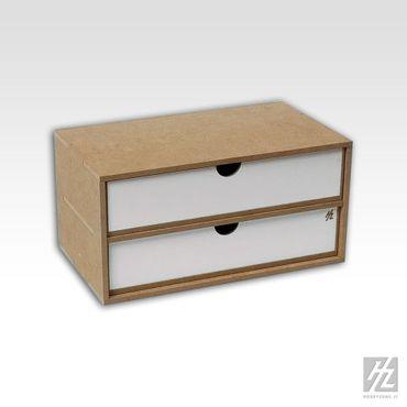 Große Schubladen Modul x 2 (Drawers Module x 2) MWS