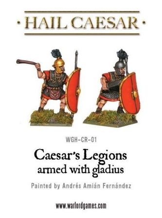 Caesarian Romans Armed with Gladius 28mm – Bild 2