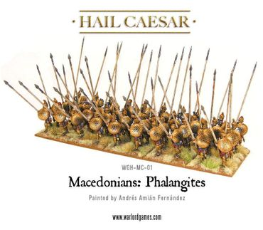 Macedonian Phalangites 28mm – Bild 4