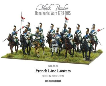 Napoleonic French Line Lancers 28mm – Bild 3